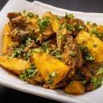 Arvi Gosht Recipe - Arbi Beef Recipe by KooKingK