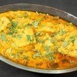 Besan Khandaiyan - Besan Pitor Curry - Patwadi Rassa Recipe