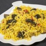Quick Brinjal Pulao - Baingan Pulav - Eggplant Pilaf Recipe by KooKingK